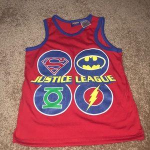 Justice League tank top